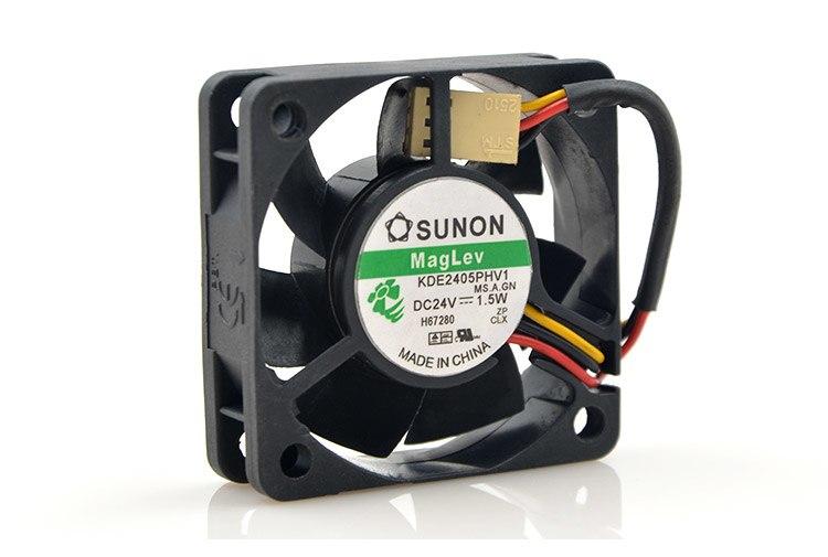 SUNON KDE2405PHV1 24V 1.5w MagLev cooling fan