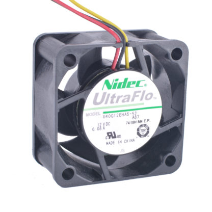 Nidec U40G12BHA5-52 A87 12V 0.08A cooling fan