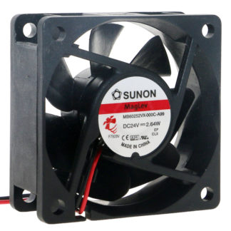 Y.S.TECH FD246025EB 60*60*25mm 24V 0.21A 50RPM cooling fan