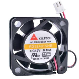 Y.S.TECH FD124015HB 12V 0.16A Double ball bearing cooling fan