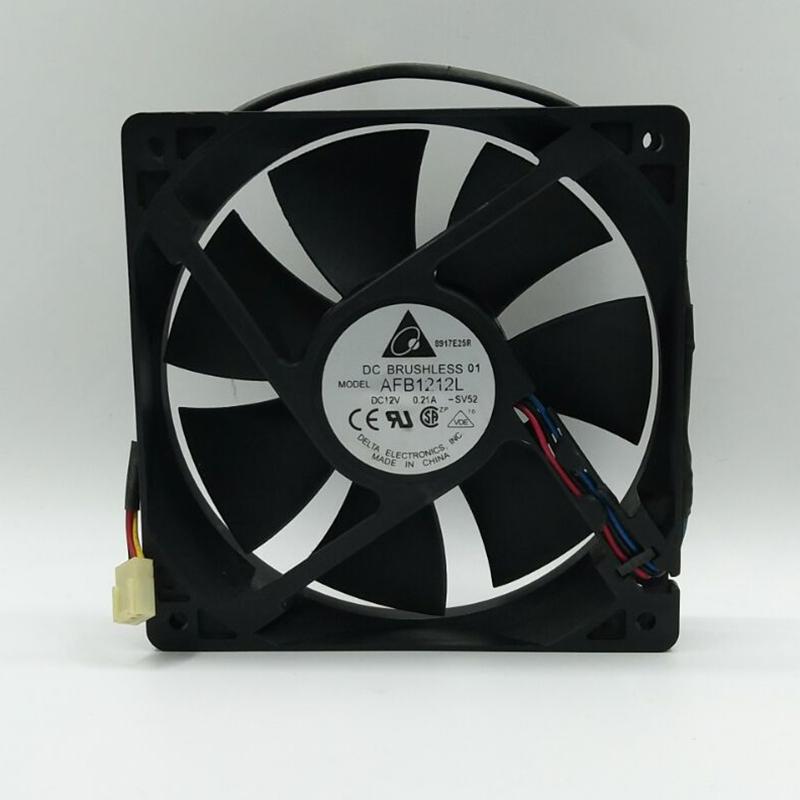 Teniendo Delta AFB1212L12CM 0.60A 12V CC bola ventilador de refrigeración