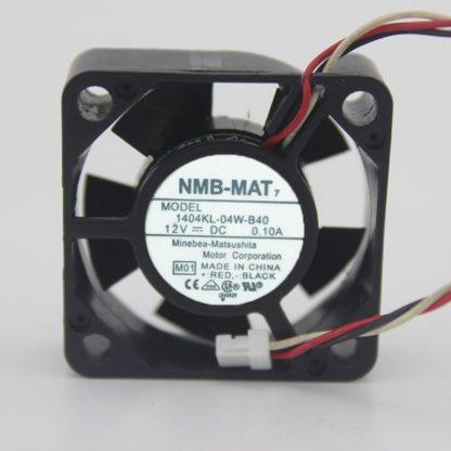NMB 1404KL-04W-B40 12V 0.10A 3CM cooling fan