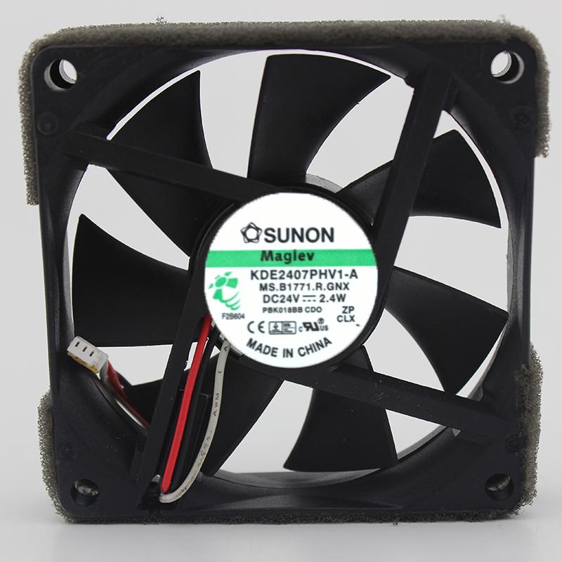 SUNON KDE2407PHV1-A 24V 2.4W ventilador de enfriamiento