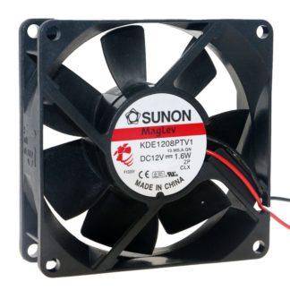 SUNON KDE18PTV1 DC12V 1.6W Silent cooling fan