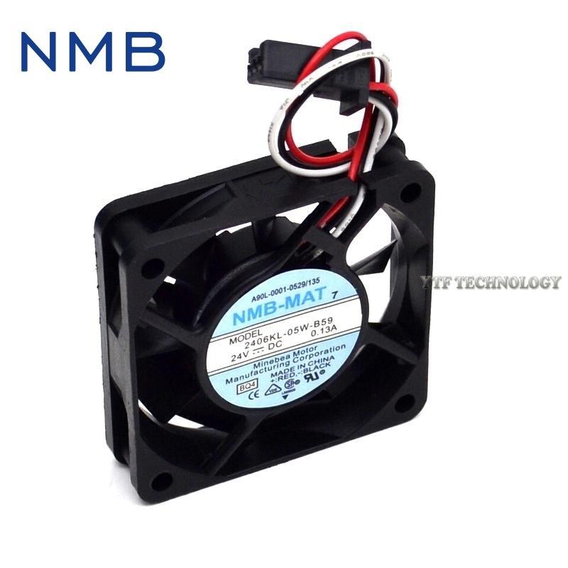 NMB A90L-0001-0511 2406KL-05W-B59 ventilador 24V 6cm ventoinha