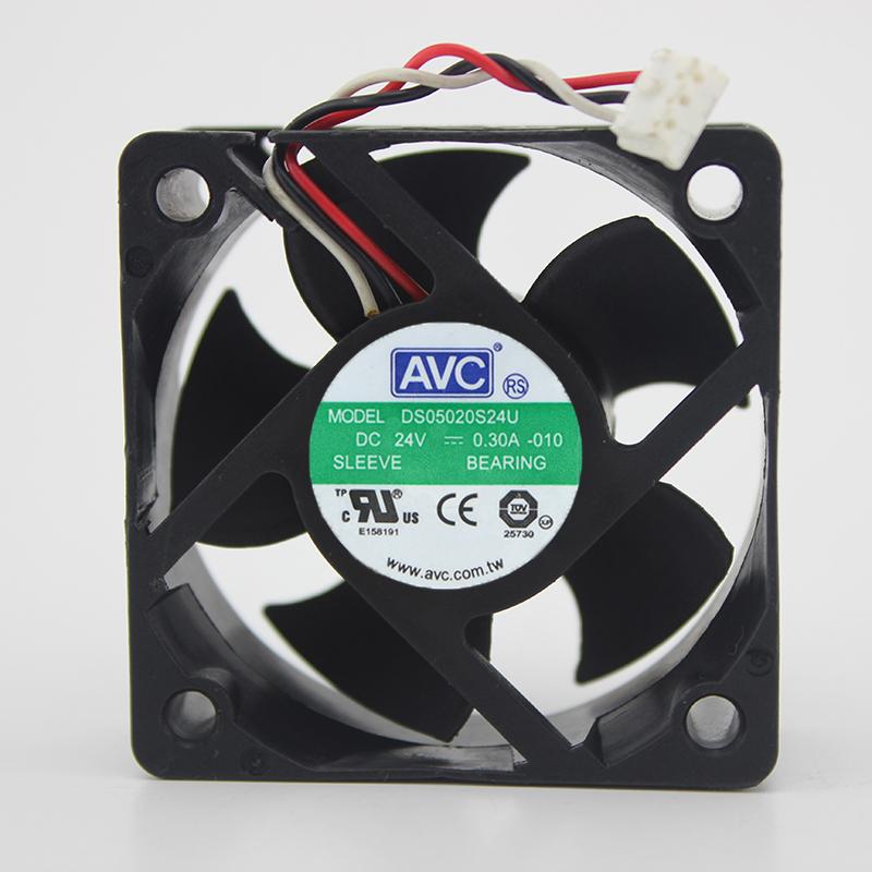 AVC DS050S24U 24V 0.30A двухпроводный инверторный вентилятор охлаждения