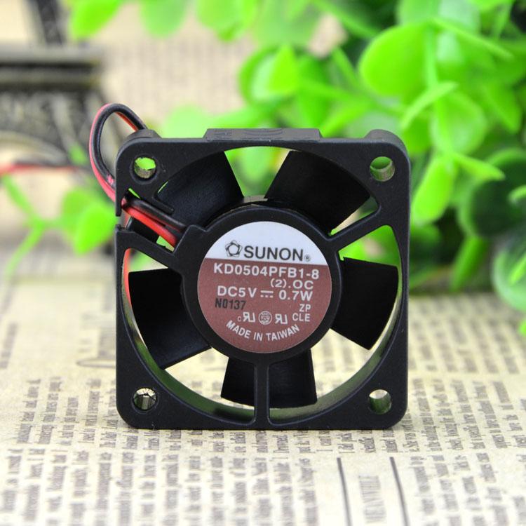 SUNON KD0504PFB1-8 5v 0.7W 2line ball bearing fan