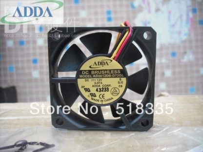 ADDA AD0612HB-D71GL 6CM 60*60*15MM 60MM DC BRUSHLESS TUBE AXIAL FAN
