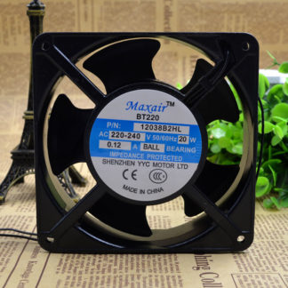 Maxair BT220 12038B2HL 20W 0.12A cooling fan