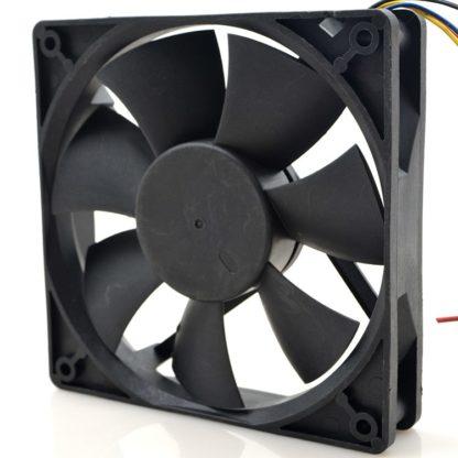 AVC DA125B12L 2V 0.3A 12cm ball bearing cooling fan