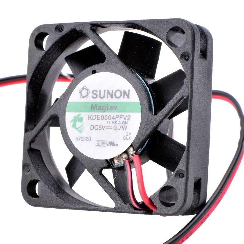 SUNON KDE0405PFV2 DC 5V 0.7W caja enrutador cojinete TV ventilador de refrigeración