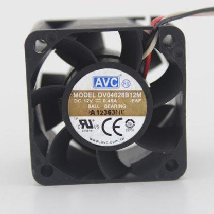 AVC DV04028B12M 12V 0.45A 4CM industrial computer cooling fan