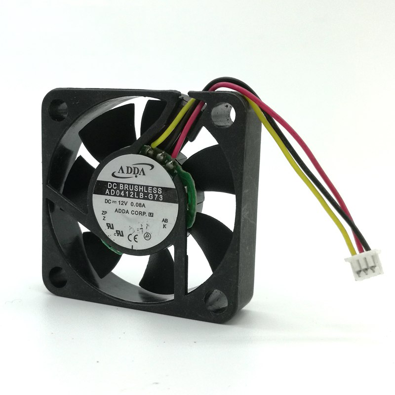 ADDA AD0412LB-G73 4CM 40mm DC 12V 0.08A ball bearing cooling fan