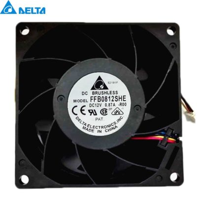 Delta FFB0812VHE 12V 0.57A ball bearing cooling fan
