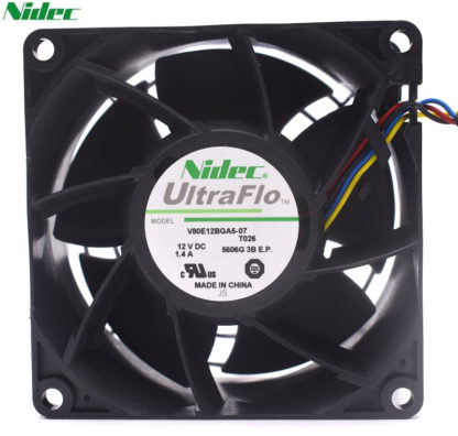 NIDEC V80E12BGA5-07 12V 1.4A intelligent cooling fan