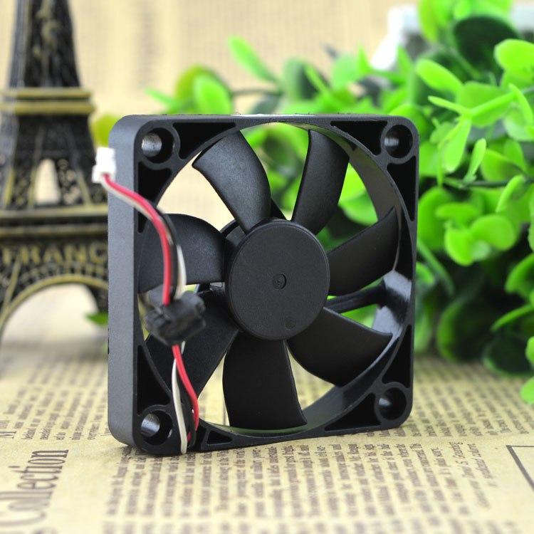Y.S.TECH FD1260107B-2R DC12V 1.68W Slim cooling fan