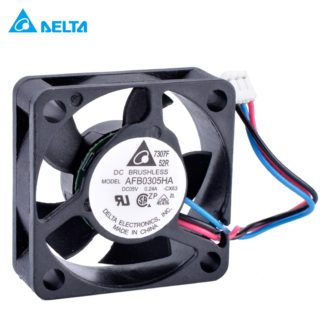 DELTA AFB0305HA 30mm fan 5V 0.24A 3pin Double ball bearing cooling fan