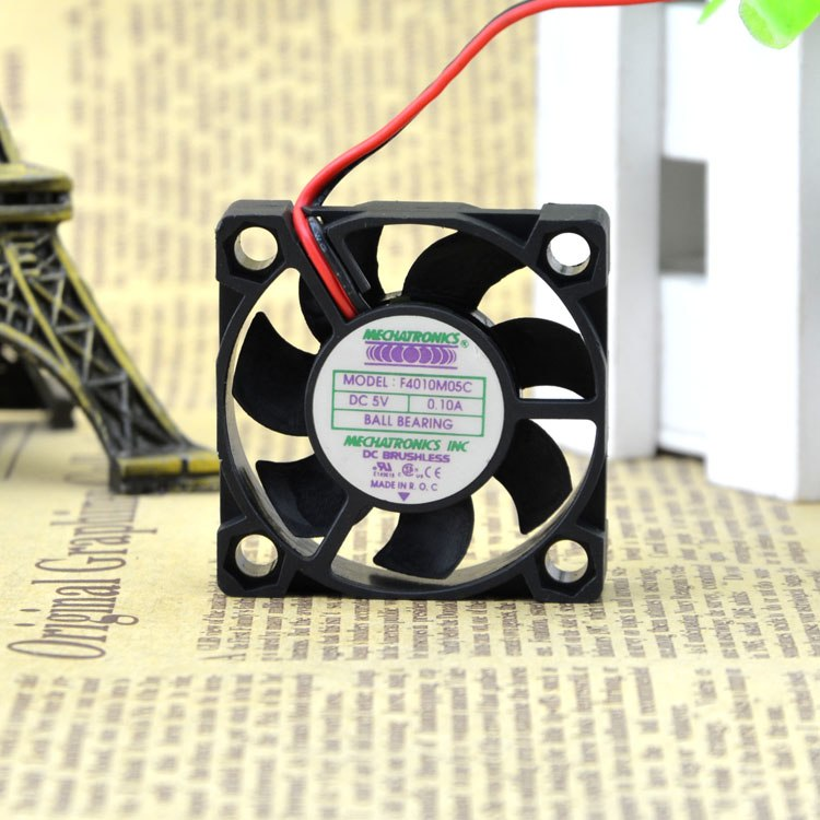 F4010M05C DC5V 0.10A 4cm mute double ball bearing fan