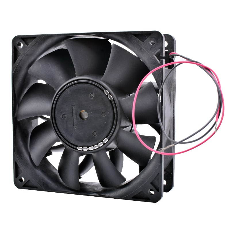 Nidec V12E24BLM9-51 DC 24V 0.39A server cooling fan