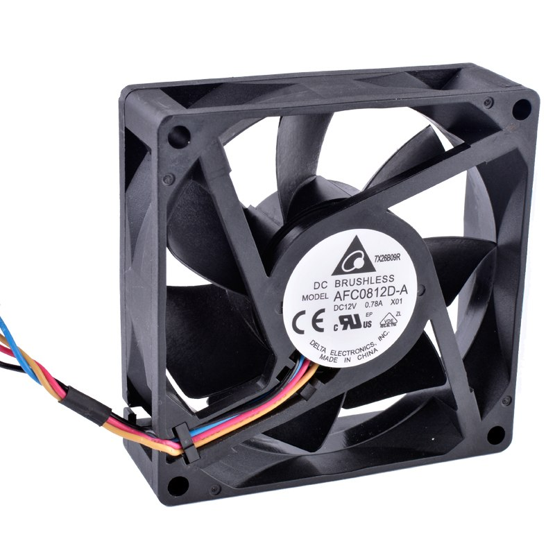 DELTA AFC0812D-A 12V 0.78A DC BRUSHLESS cooling fan