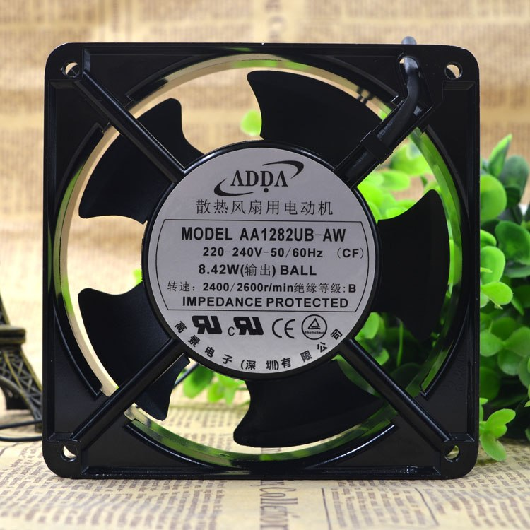 ADDA AA1282UB-AW 12CM AC220V ventilador de refrigeración