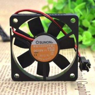 SUNON KD16PFB1 12V 1.9W ultra thin ball cooling fan