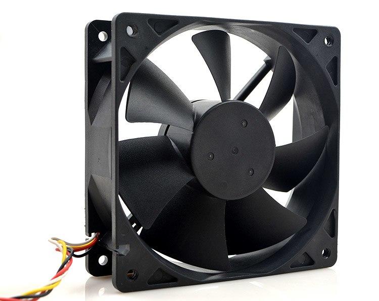 SUPERRED CHA112CB-TA-F 12V 0.70A 12CM ventilador de refrigeración de 4 hilos