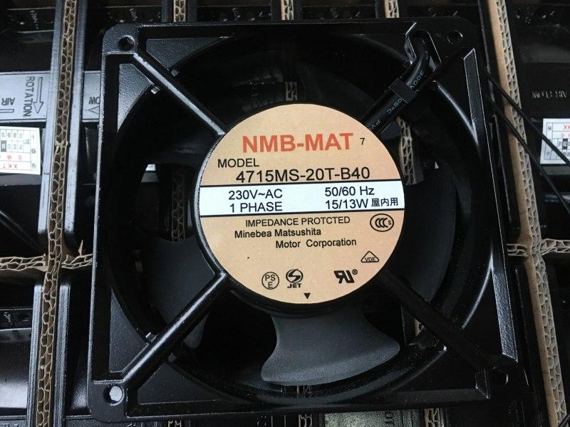 NMB-MAT 4715MS-T-B40 12CM 0V15/13W cooling fan