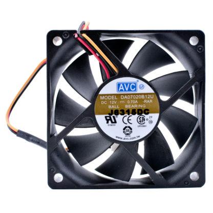 AVC DA070B12U 12V 0.70A Double ball bearing cooling fan