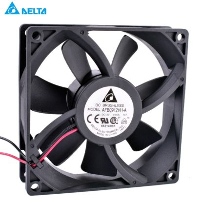 DELTA AFB0912VH-A 12V 0.60A double ball bearing large air volume cooling fan