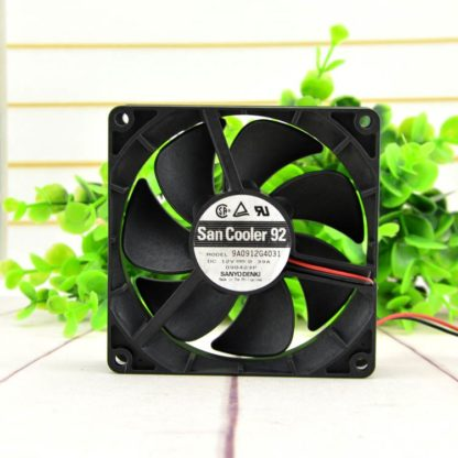 SANYO 9A0912G4031 12V 0.39A chassis cooling fan