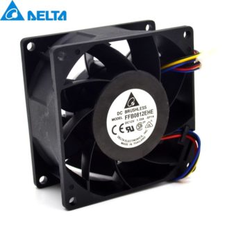 Delta FFB0812EHE 12V 1.35A Need double ball bearing fan
