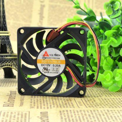Y.S.TECH FD127010LB 7cm DC12v 0.2A graphics card cooling fans