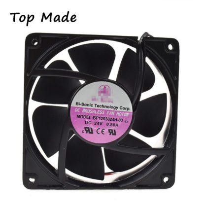 BI-SONIC BP13824H-03 24V 0.80A Ball Bearing Axial Flow Fan