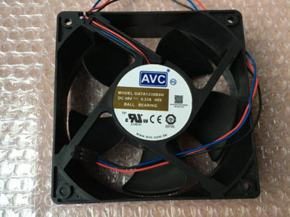 AVC DATA1238B8H -103 DC48V 0.33A 120*38mm BALL BEARING cooling fan