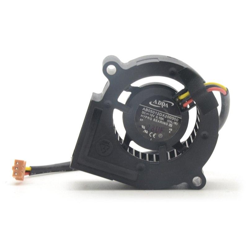 ADDA AB05012DX0300 DC 12V 0.15A Blower cooling fan