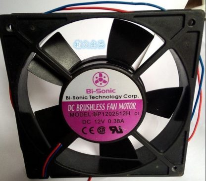 Bi-Sonic  BP12512H 12V 0.38A Double Ball Switch Fan