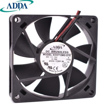ADDA AD0712MS-D70 12V 0.18A chassis cooling fan