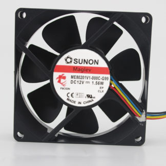 SUNON GM16PTV1-A DC 12v 1.6w 3wire cooling fan