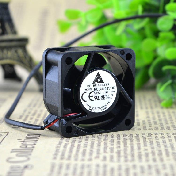 Delta EUB0424VHD DC24v 0.14A  2 line cooling fan