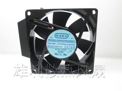 KAKU KA8225HA2BAT AC 220V 0.15A / 0.18A 8CM Cooling fan