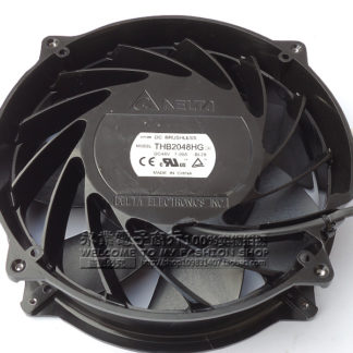 Delta THB2048HG -BL28 DC 48V 7.00A  4-wire Server Round Fan