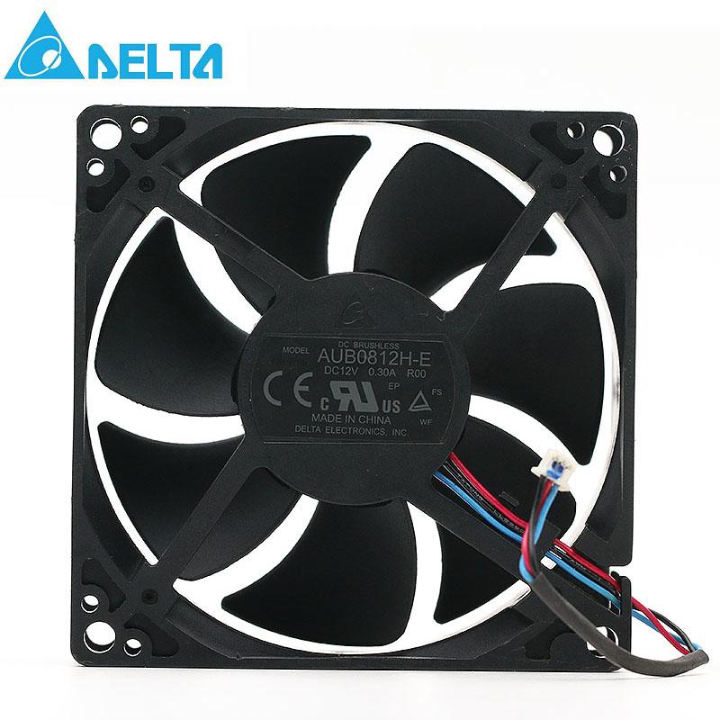 Delta AUB0812H-E ROO 12V 0.3A projector axial cooling fan