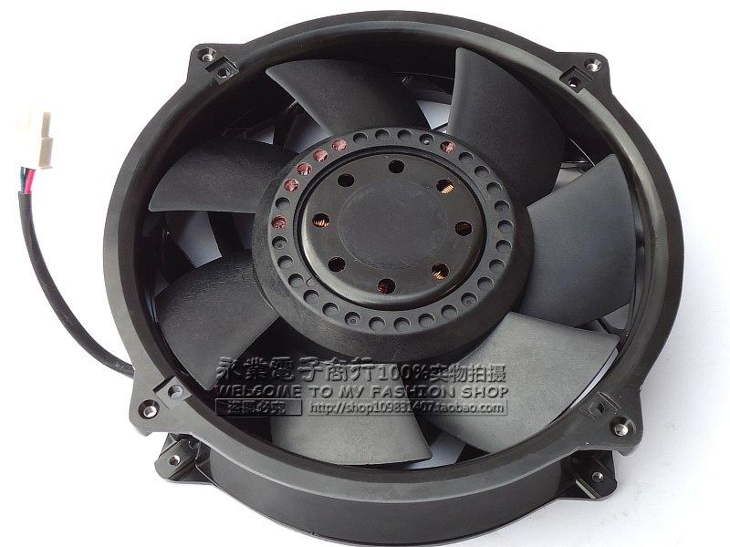 Delta THB2048HG -BL28 DC 48V 7.00A  4-wire Server Round Fan