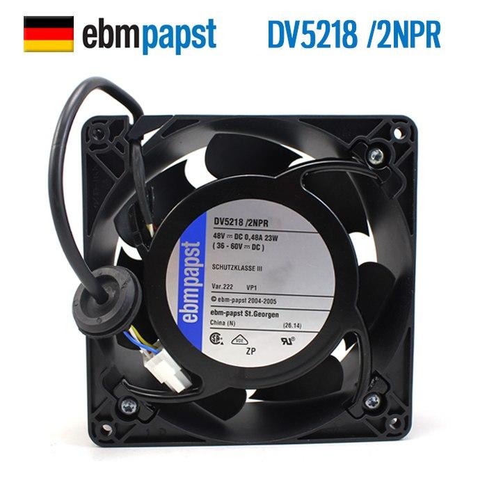 ebmpapst  DV5218/2NPR  48V 23W Vacon frequency cooling fan