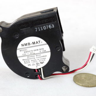 NMB BM4515-04W-B39 DC12V 0.13A ball bearing centrifugal cooling fan