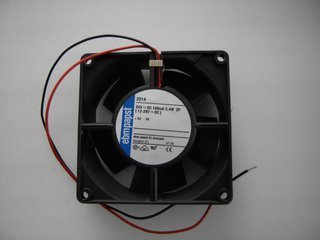 Ebmpapst 8314LU 27V DC 55mA 1.5W 2wires Cooling Fan