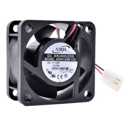 ADDA AD0412HB-C50 12V 0.11A Double ball silent cooling fan