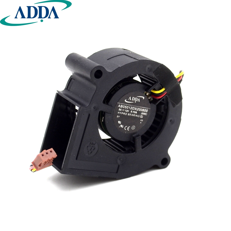 ADDA AB05012DX200600 DC12V 0.15A cooling fan