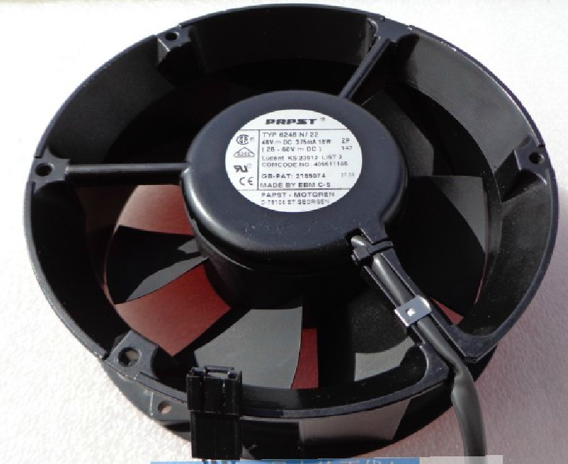 PAPST TYP6248N/22 48V 18W 375MA Inverter cooling fan